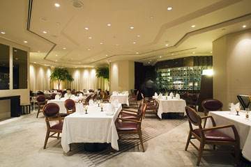 the interior of a fine dining restaurant